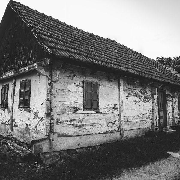 Stara hiža u predjelu Podruta zvanom Bugarska.