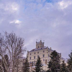 Grad u oblacima - sjeveroistočno pročelje Trakošćana
