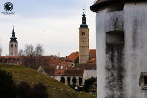 Katedrala i franjevačka crkva iz perspektive Starog grada
