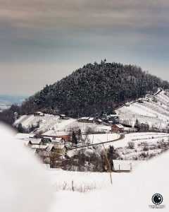 Kapela Sveti Duh u zimskom ambijentu